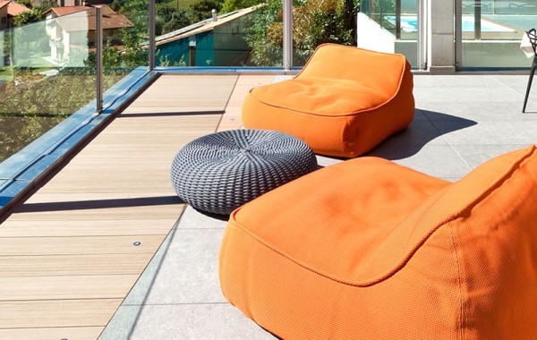 LexMod Taiji  Outdoor Daybed